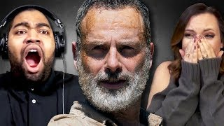 Fans React to Rick's Last Episode on The Walking Dead:
