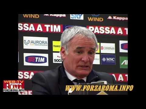Rueda de prensa de Claudio Ranieri