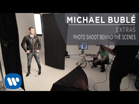 Michael Bublé - Photo Shoot [Behind the Scenes]