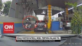 Video Disalip Motor Patroli, Mobil Tertimpa Palang Tol MP3, 3GP, MP4, WEBM, AVI, FLV Oktober 2017