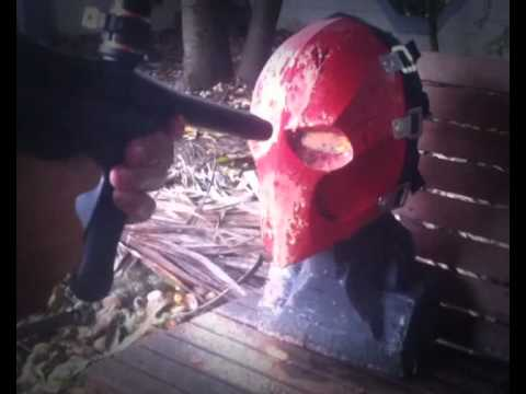 Army of two mask paintball test