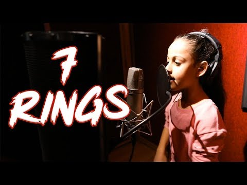 Ariana Grande - 7 rings (Cover by 7 year old Tinie T) | MihranTV