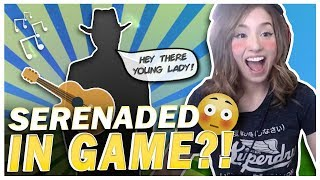 POKI GETS SERENADED IN A FORTNITE GAME?! DUO FILL!