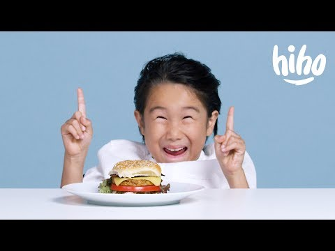 Kids Try Vegan Food for the First Time