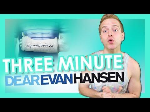 Three Minute Dear Evan Hansen   TYLER MOUNT (видео)