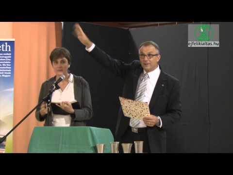 Norbert Lieth Prédikációja Örkényben