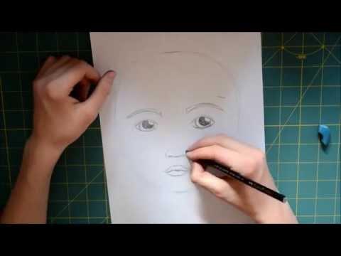 Portrait zeichnen lernen – Anleitung