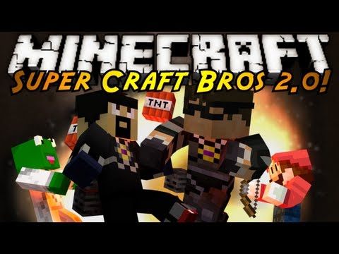 craft - SUPER SMASH BROTHERS IN MINECRAFT RETURNS WITH TONS OF NEW CHARACTERS, DOUBLE JUMPS, AND MORE..ON SERVERS?! Friends Channels! http://www.youtube.com/user/ker...