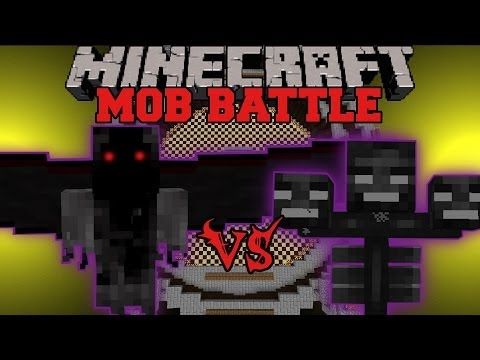 demon - Wither Boss Vs. Demon Angel : Who will win the mob battle?! Don't forget to subscribe for more battles and epic Minecraft content! Facebook! https://www.face...