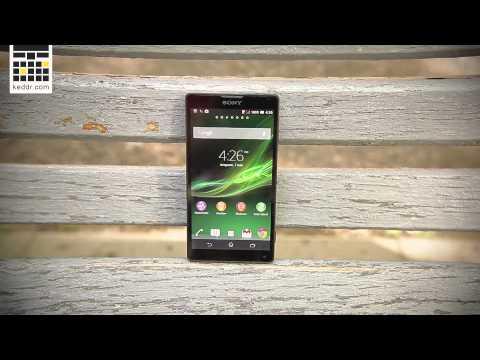 Обзор Sony Xperia ZL (видео)