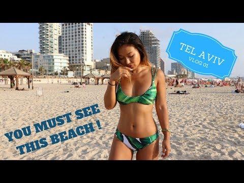 Tel Aviv Vlog 1: You must see this beach!