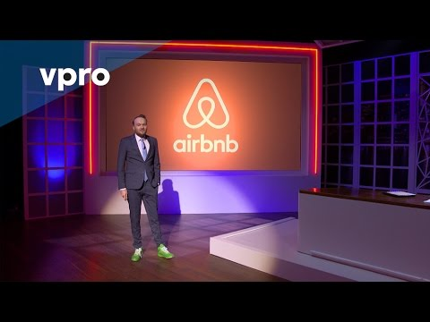 Dutch TV host explains how Air Bnb is destroying cities