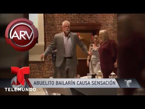 Este abuelito bailarín fue la sensación en esta boda | Al Rojo Vivo | Telemundo
