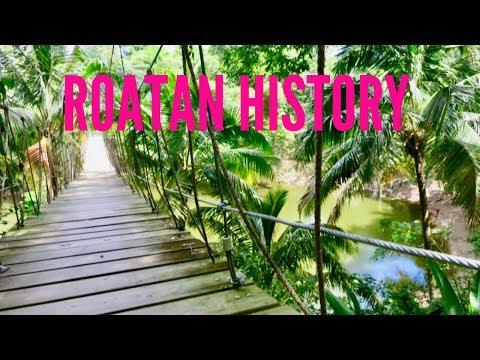 Roatan Honduras - History of Roatan shared on tour at Gumbalimba Nature Park