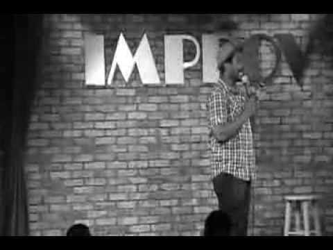 Irv Anthony Comedian at Improv Orlando, FL 09-04-2013