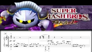 Super Smash Bros. Brawl – Meta Knight's Revenge (Piano Arrangement)