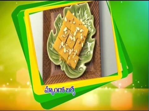 Telugu-Ruchi-Amerikalo--Mango-Burfi--మ్యాంగో-బర్ఫీ