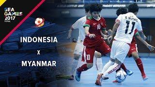 Video INDONESIA (3) Vs (1) MYANMAR - FUTSAL PUTRI SEA GAMES 2017 MP3, 3GP, MP4, WEBM, AVI, FLV Agustus 2017