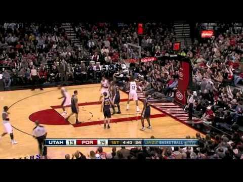 LaMarcus Aldridge's put-back dunk against Jazz