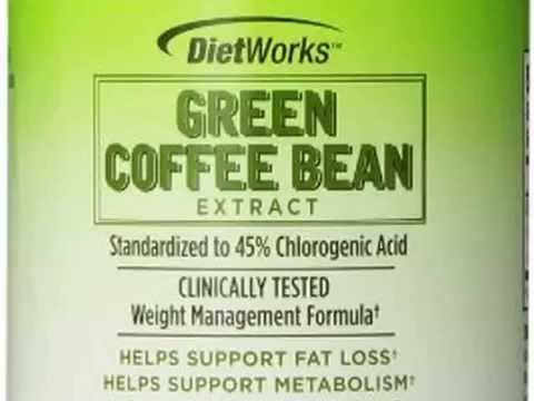 Get Dietworks Green Coffee Bean Extract Caplets, 180 Count Product images
