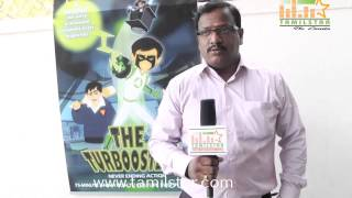 Dinakar Speaks at The Turboosters Film Press Meet