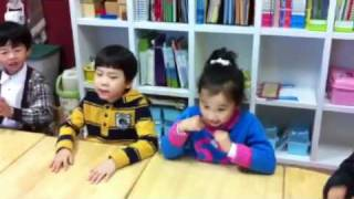 This is another song sung by my students, but it's all in Korean.