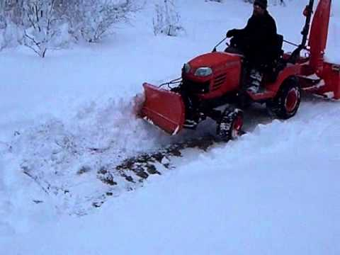 Kubota BX24 Snow Plow