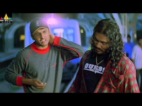 Sye Movie Nithin Saves Shashank | Telugu Movie Scenes | SS Rajamouli | Sri Balaji Video