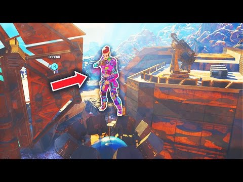 HE WAS SO HIGH UP!! - \