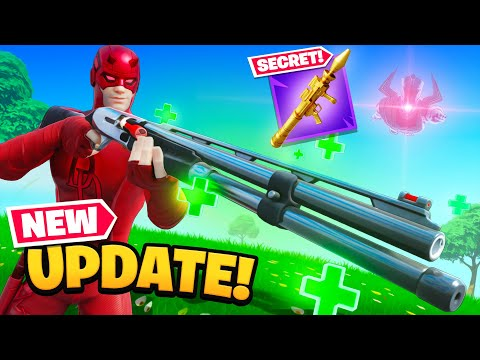 Everything *NEW* In Todays Fortnite Update! (Combat Buff)