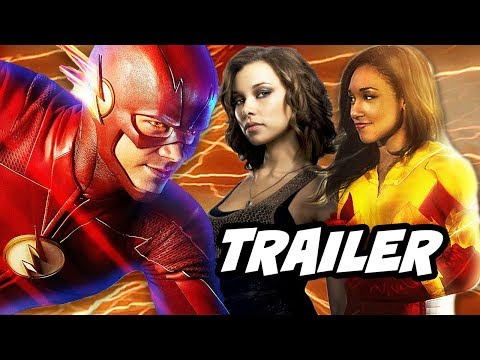 The Flash Season 4 Nora Allen and Iris West Flash Trailer Breakdown
