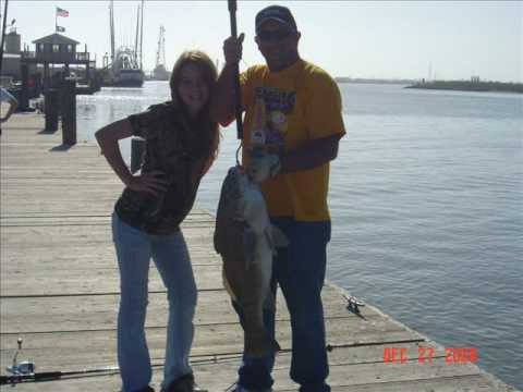 Bull Reds and Black Drum at Grand Isle, Louisiana – Dec 2008