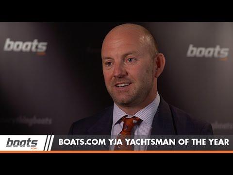 Ian Walker is YJA Yachtsman of the Year