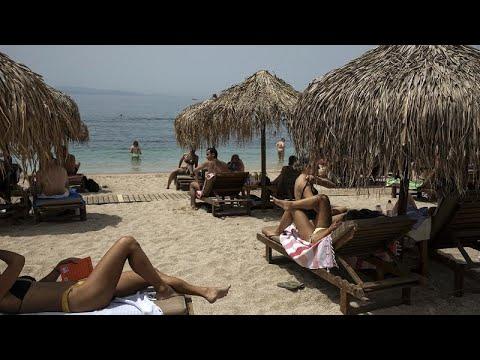 Ανοιχτές παραλίες σε Ελλάδα και Γαλλία