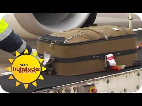 Koffer verschwunden: Was tun, wenn der Koffer nicht ankommt? | SAT.1 Frühstücksfernsehen | TV