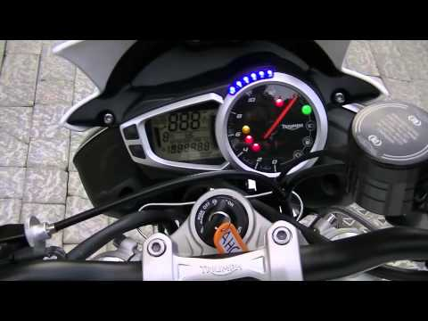 2013 Triumph Street Triple R first ride