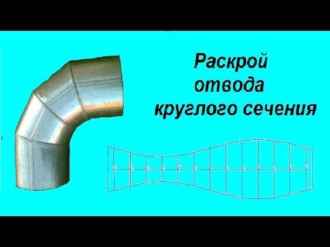 Изготовление отводов из оцинкованной стали