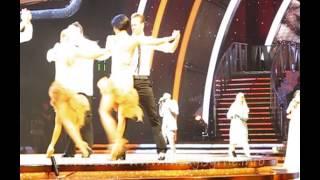 Nicky Byrne & Karen Hauer SCD 2014 Live Group Dance 2 20-01-14