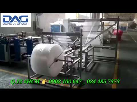 Túi xốp bóng khí sản xuất theo yêu cầu độ lệch chỉ 1mm