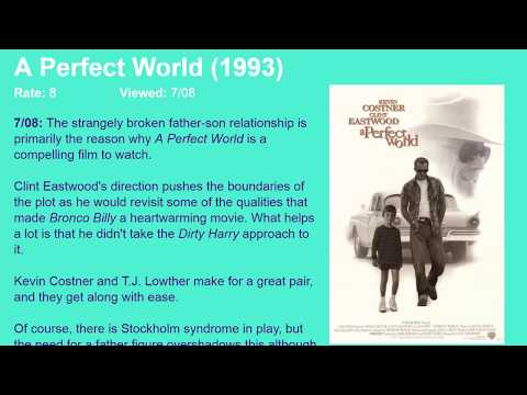Movie Review: A Perfect World (1993) [HD]