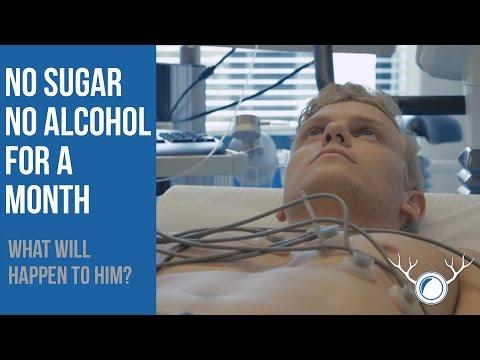 他原本認為一個月都不碰糖份跟酒精也不會有太大改變,一個月後他站上體重計就WOW出聲!