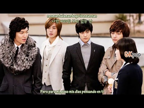 SS501 - Because I'm Stupid (Sub Español - Hangul - Roma) (Boys Over Flowers OST)