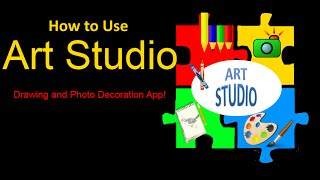 Art Studio - Draw & Decorate YouTube video