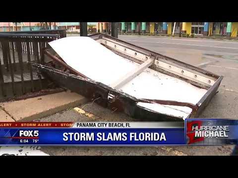Storm slams Panama City Beach