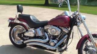 6. HD VIDEO 2007 HARLEY DAVIDSON FXSTC SOFTAIL CUSTOM BIKE FOR SALE SEE WWW SUNSETMILAN COM