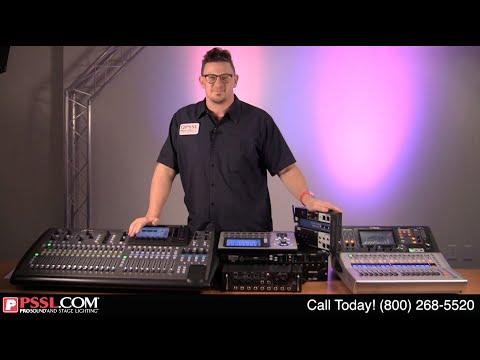 Digital Mixers 101 : PSSL Explains Basics About Digital Mixers