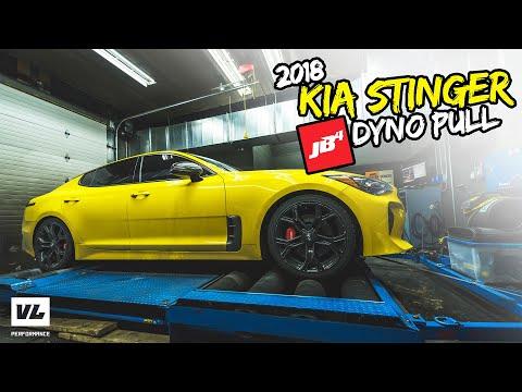 Kia Stinger JB4 + Dyno pull