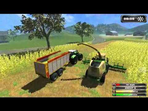 Farming Simulator 2011 Multiplayer Silage 2