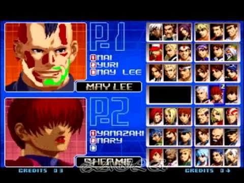 Kof 2002 select bug by kzayle