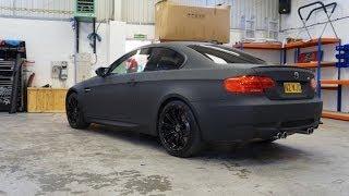 BMW M3 Wrap